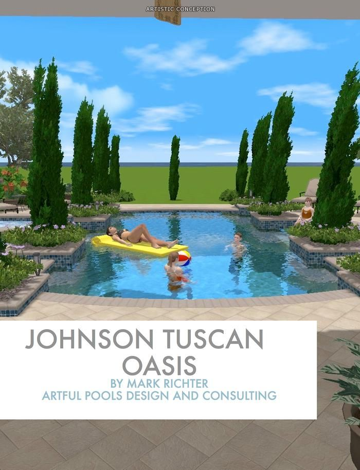 The Best Ever Swimming Pool Proposal Marketing Art For