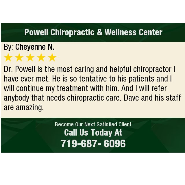 Dr Powell Is The Most Caring And Helpful Chiropractor I Have Ever Met He Is So Chiropractic Wellness Center Chiropractic Care Chiropractic Wellness