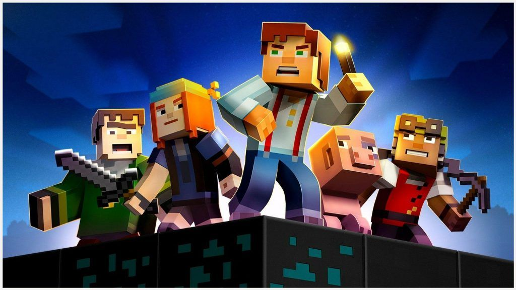 Minecraft Story Mode Game Wallpaper Minecraft Story Mode Game - Minecraft lustige hauser