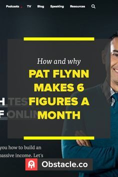Want to know how Pat Flynn makes 6 figures a month? It isn't about sprinkling affiliate ads everywhere. Let's dive in to see.