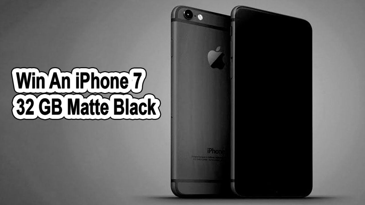 Giveaway iPhone 7 32gb