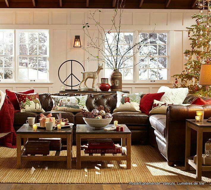Christmas Dining Room Ideas To Add A Flourish To Christmas: Pin By Julia Pope On Livingrooms