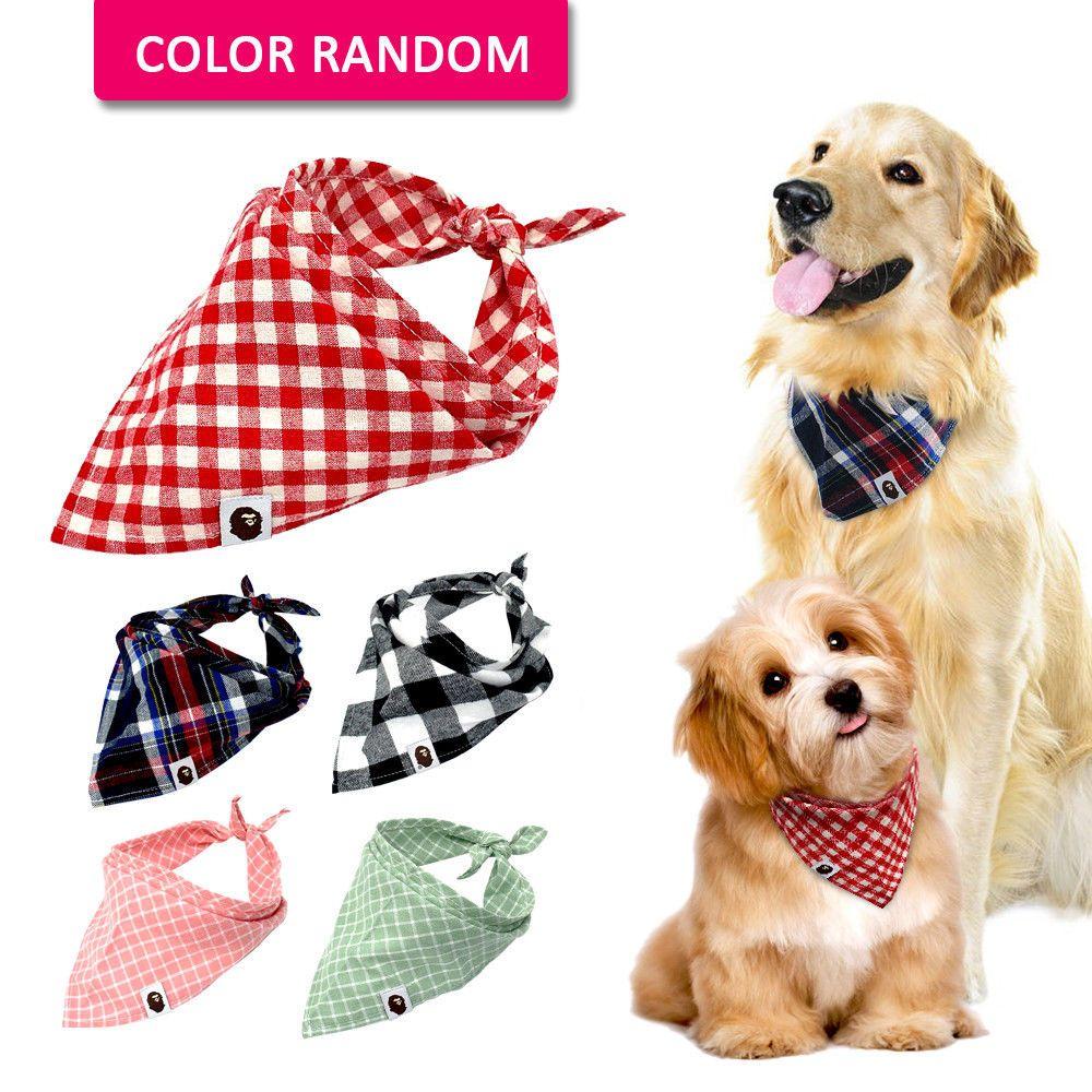 6 99 5pcs Lot Cotton Bandana Dog Collars Pet Puppy Cat Neck