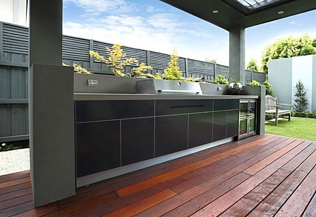 P R O J E C T A L E R T Our April Outdoor Kitchen Of The Month Is Live On Our Website No Outdoor Kitchen Design Outdoor Bbq Kitchen Outdoor Kitchen