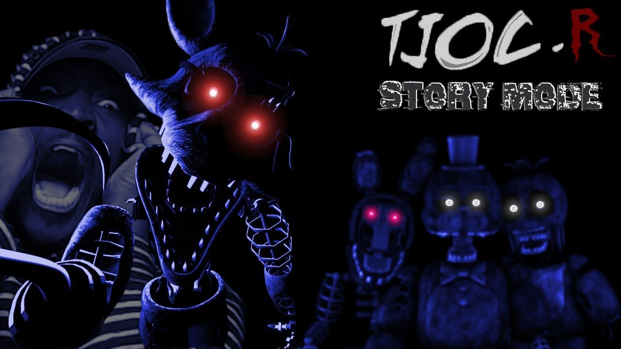 FOXY\'S STARE OF DEATH | The Joy of Creation: Story Mode BEDROOM ...