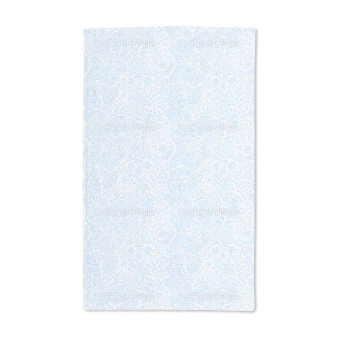 Uneekee River of Dreams Hand Towel, Blue
