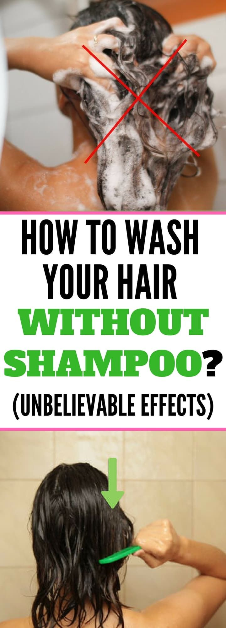 How to Wash Your Hair Without Shampoo? (Unbelievable