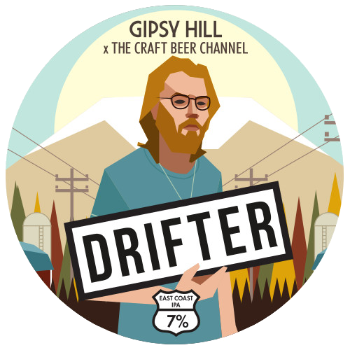 Drifter is a series of experimental brews with/ode to the New England-style cloudy, yeast driven IPAs to have emerged lately on the Atlantic coast of the US. An intense fruit hit created by the combination of big stone fruit hops and strong yeast esters