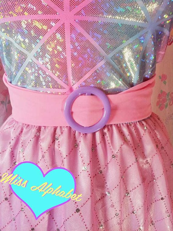 holographic-pastel-dress-pink-silver
