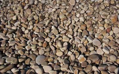 Pebbles Wall Paper Mural - Wallpaper & Border | Wallpaper-inc.com