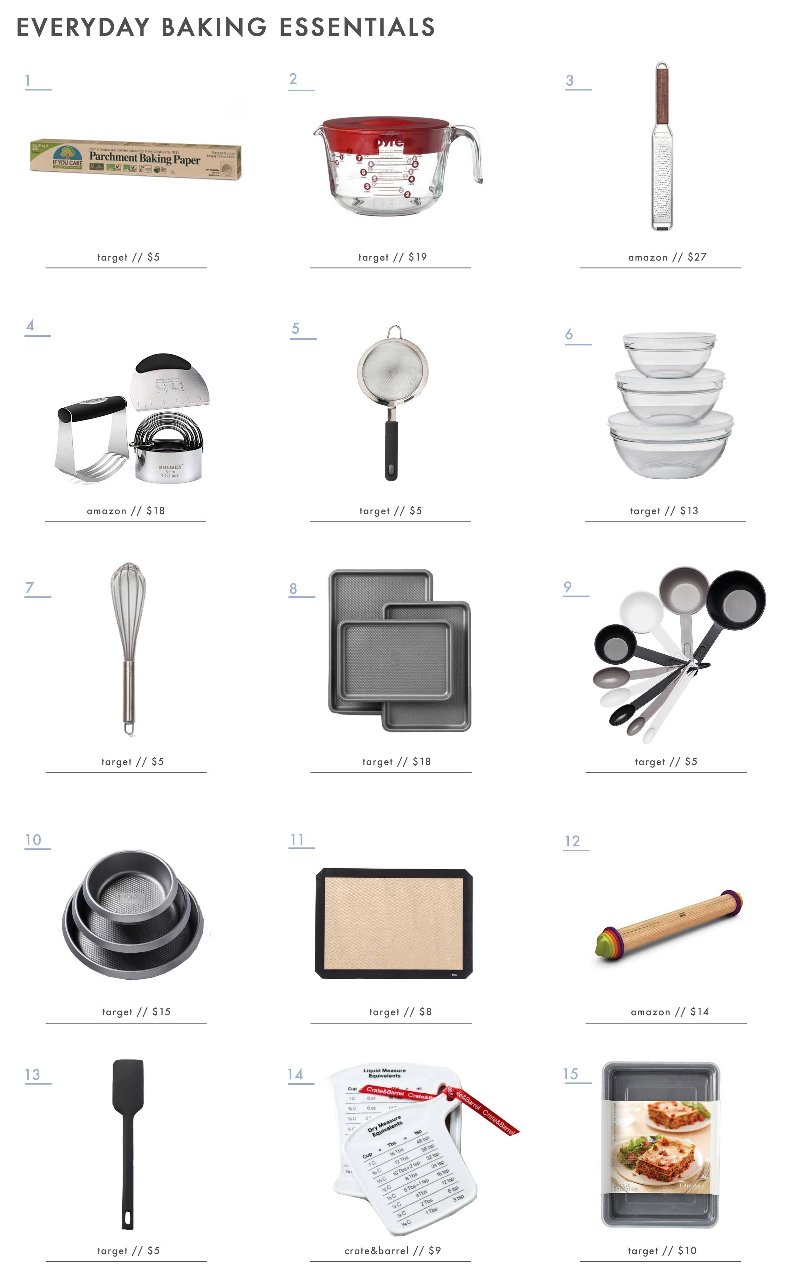 A Definitive List of the Only Baking Tools You Need (From ...