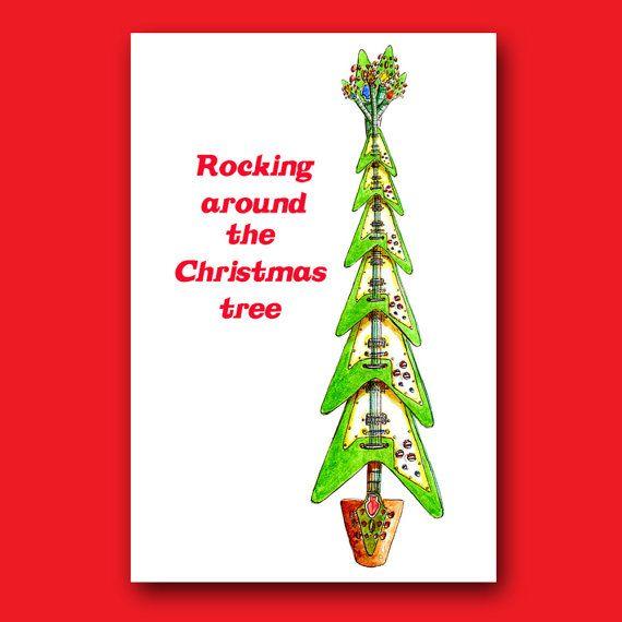 Rocking Around The Christmas Tree . Funny Unique Boyfriend