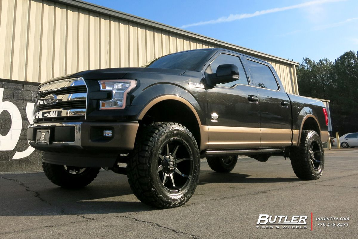 Ford F150 with 20in Fuel Coupler Wheels by #butlertire | Butler Tire ...