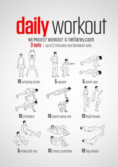 "Workout of the Week – The ""Daily"" Workout –"