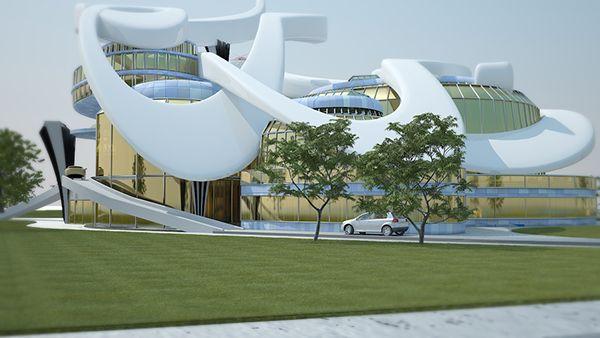 Al Jazeera new building concept design on Behance