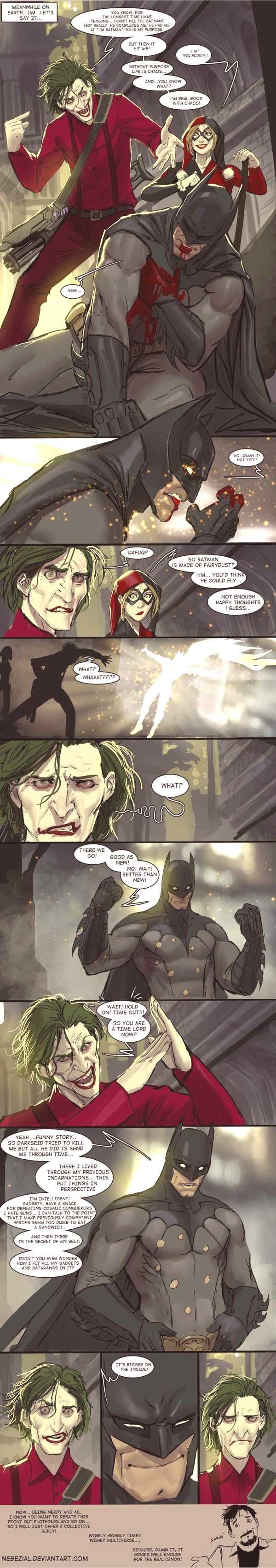 Batman as a Time Lord - I didn't even know how much I wanted ...