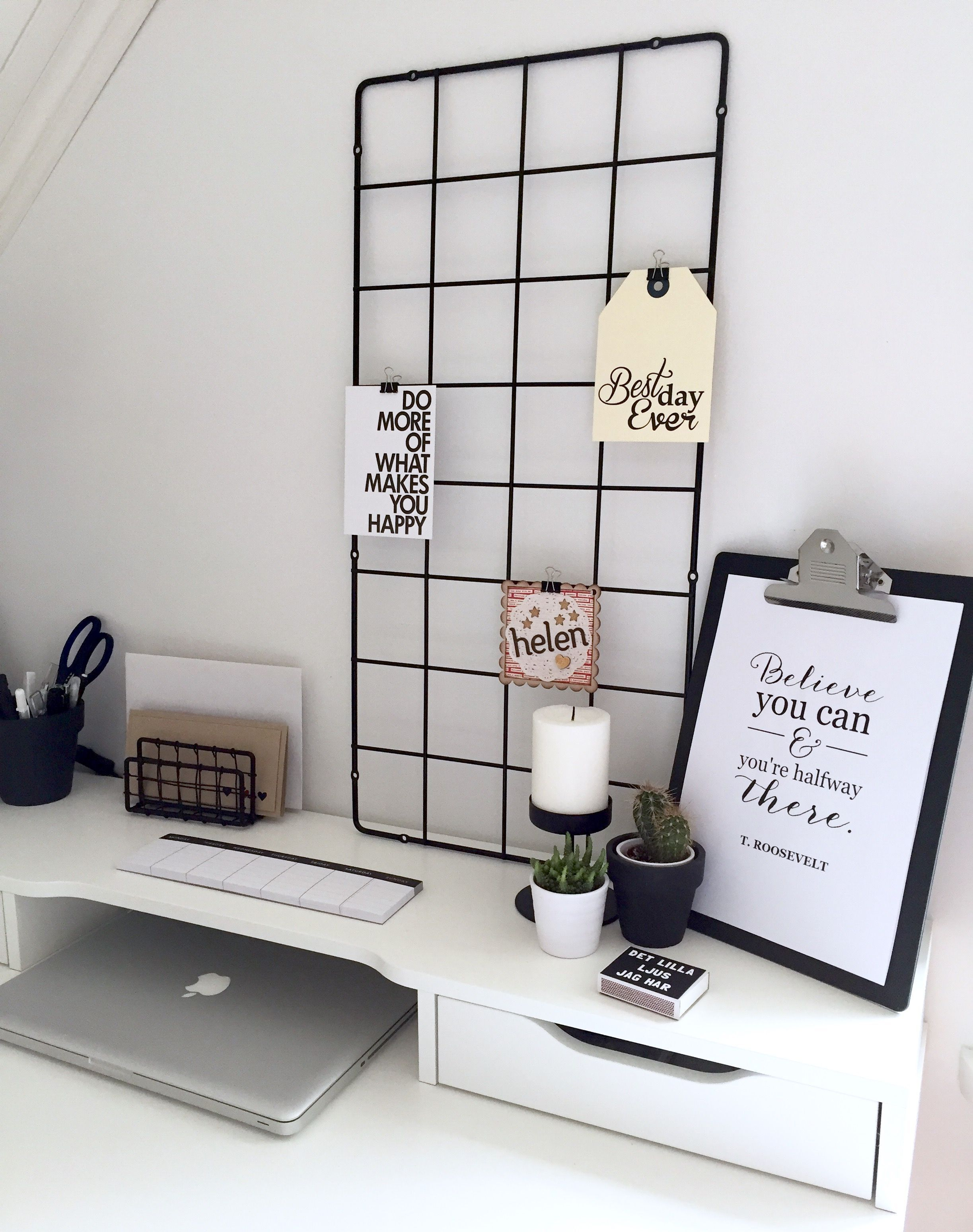 Black Inspiration The Mid Century Pieces That Will Awaken Your Soul Ikea Alex Desk Desk Inspiration Minimalist Room