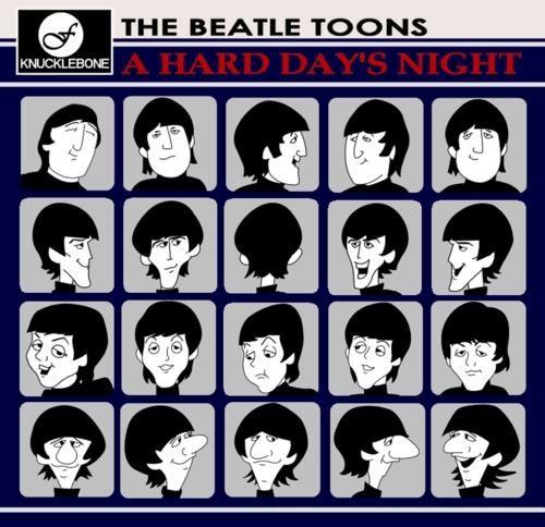 Beatles Cartoons Beatles Cartoon The Beatles Beatles Art