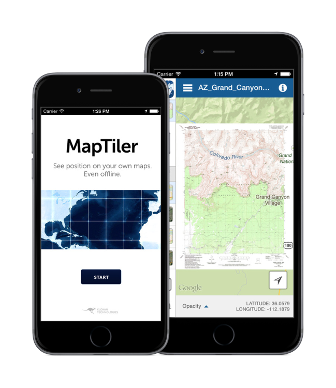 MapTiler GPS MBTiles viewer | Random Stuff | App, Mobile app, Web