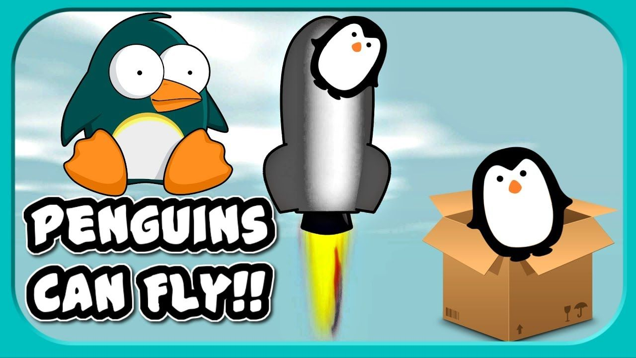 penguins can fly learn to fly 3 gameplay vids pinterest