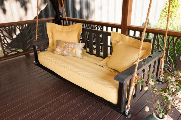 The Craftsman Is Our Classic Swing Bed That Lets You Relax In Comfort And  Style.
