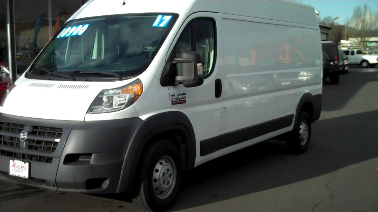 2017 DODGE RAM 2500 PROMASTER HIGH ROOF CARGO 10900 in