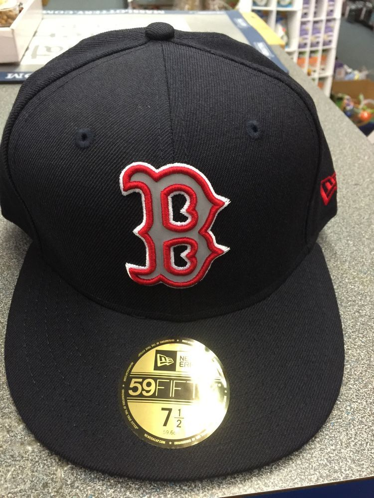 6056283de New Era 59fifty #MLB #Boston #RedSox Fitted Hat Size 7 1/2 ...