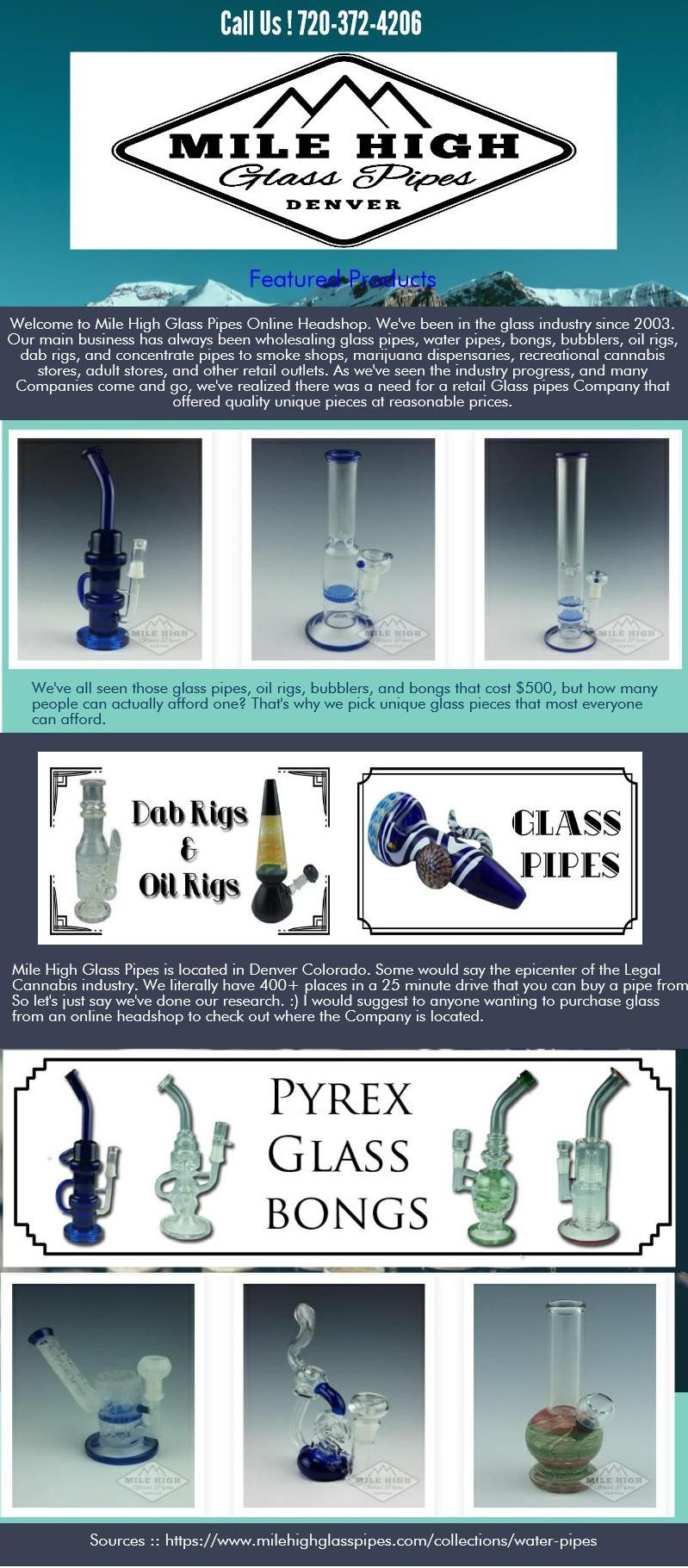 Acrylic bongs and metal bowls that were popular earlier used to give