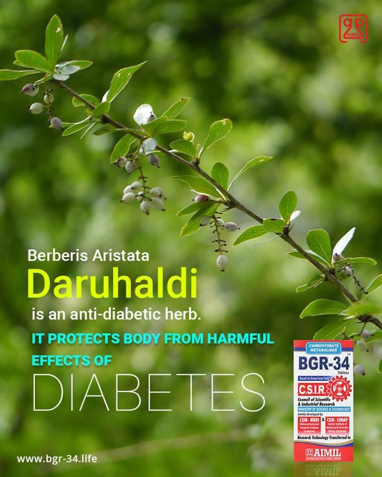 bgr 34 medicina ayurvédica para la diabetes