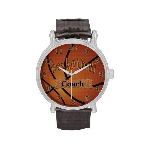Basketball Watches, Gifts for Coaches Basketball Wrist ...