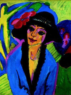 kirchner pintor expresionista - Buscar con Google | Entartete kunst,  Portretschilderijen, Inspirerende kunst