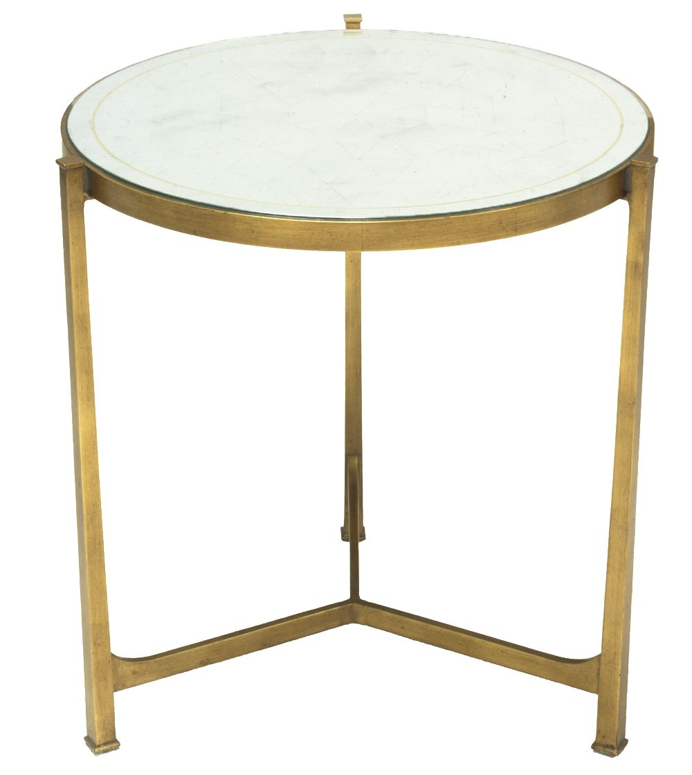 Gilded End Table - ELTE