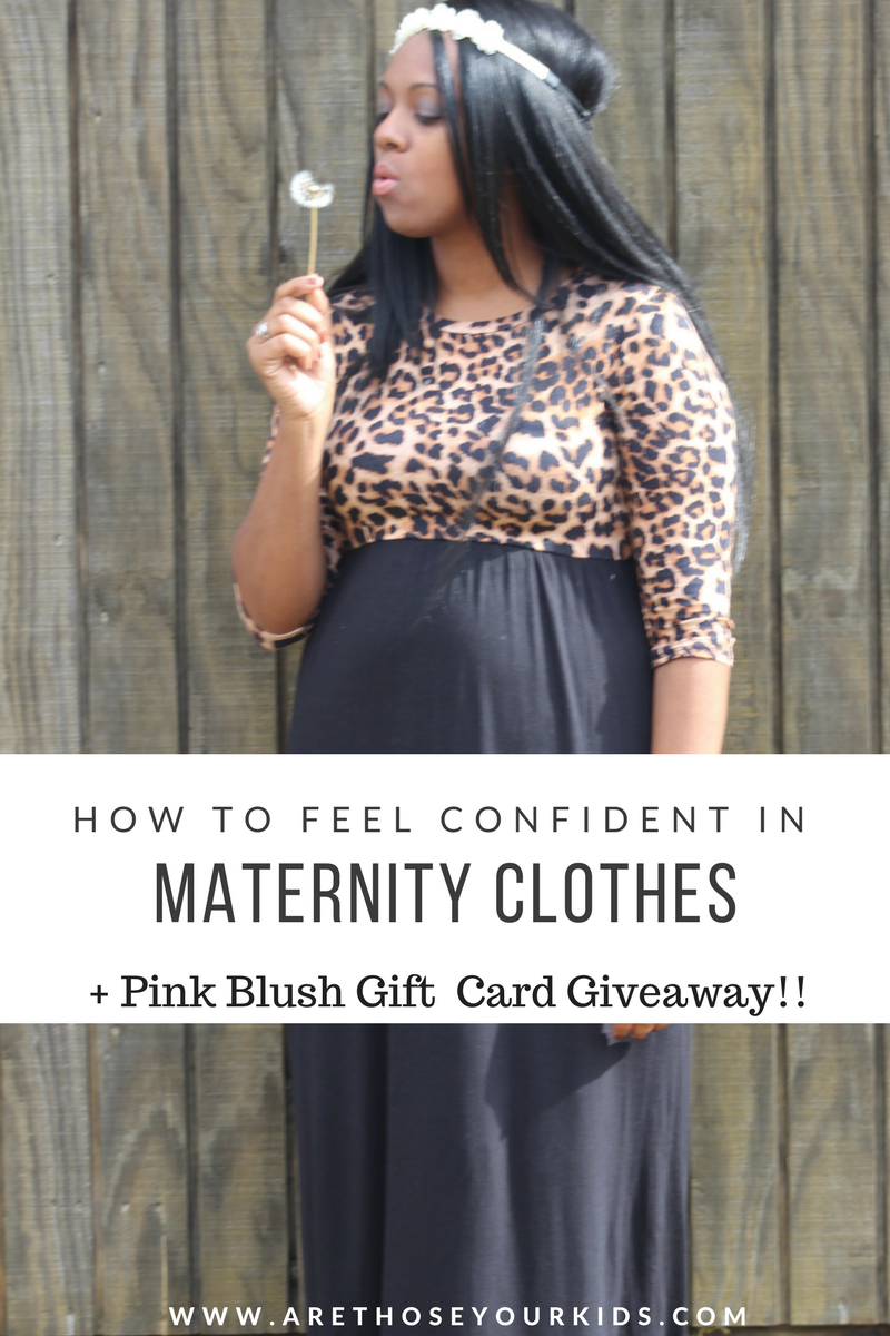 01876f60bf27 How To Feel Confident In Your Maternity Clothes + Pink Blush Giveaway!