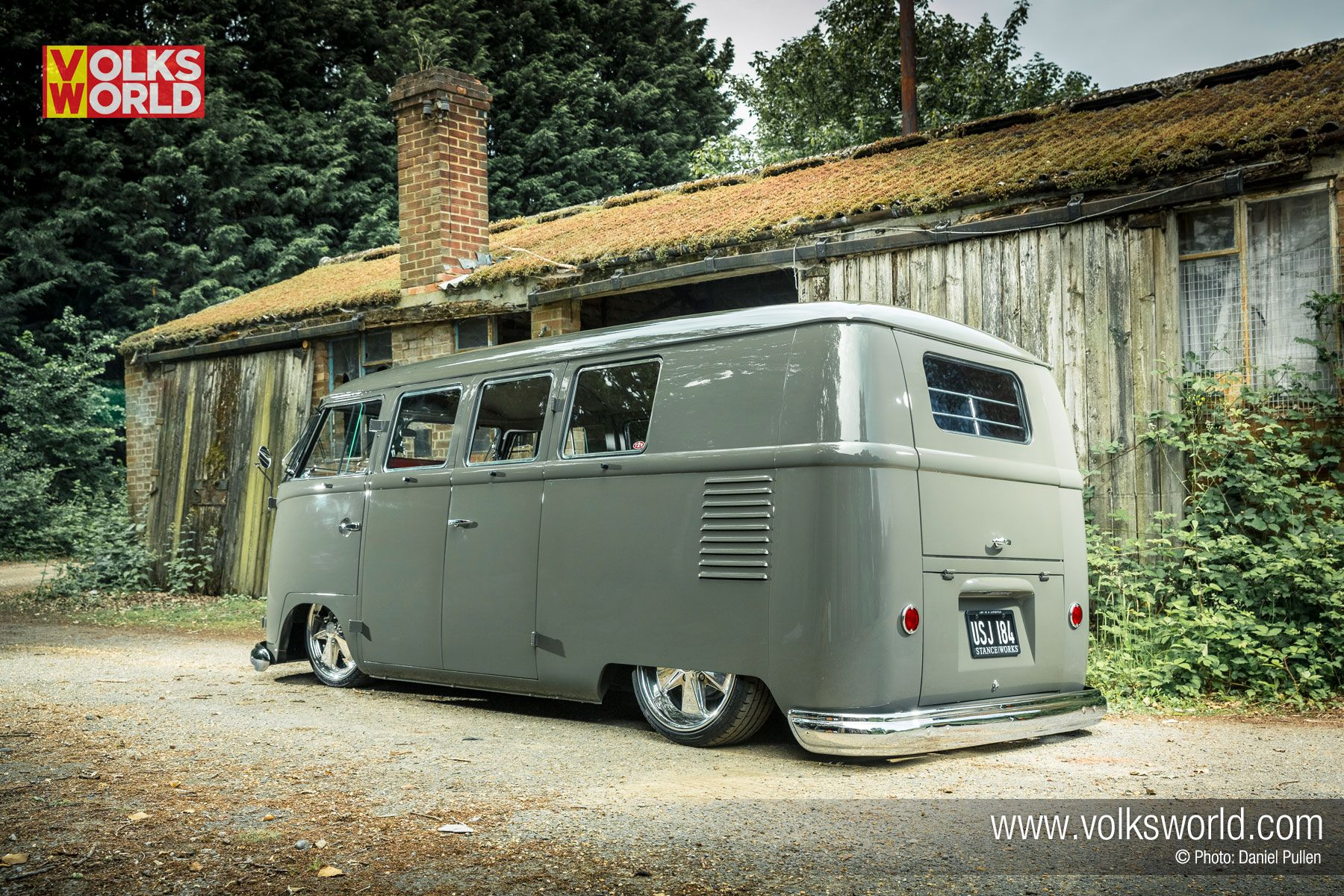 59 Slammed Vw Double Door Panel Jpg 640 460 Vw T1 Bulli Bus Camper