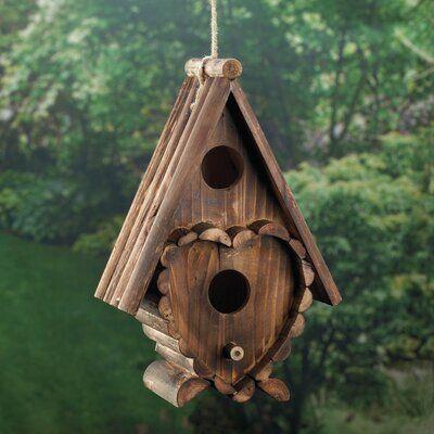Zingz Thingz Heart 10 In X 7 In X 4 In Birdhouse Birdhouses Zingz Thingz Heart 10 In X 7 In X 4 In Birdhouse Nichoir Maison Oiseaux Mangeoire Oiseau