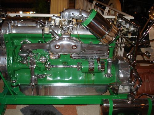 Duesenberg J Model Engine Built By Lycoming Another Of Cord S