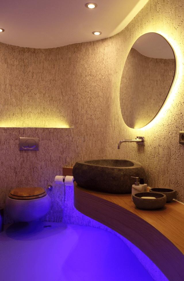 Modern bathroom mirrors with led lights | Bathroom | Pinterest ...