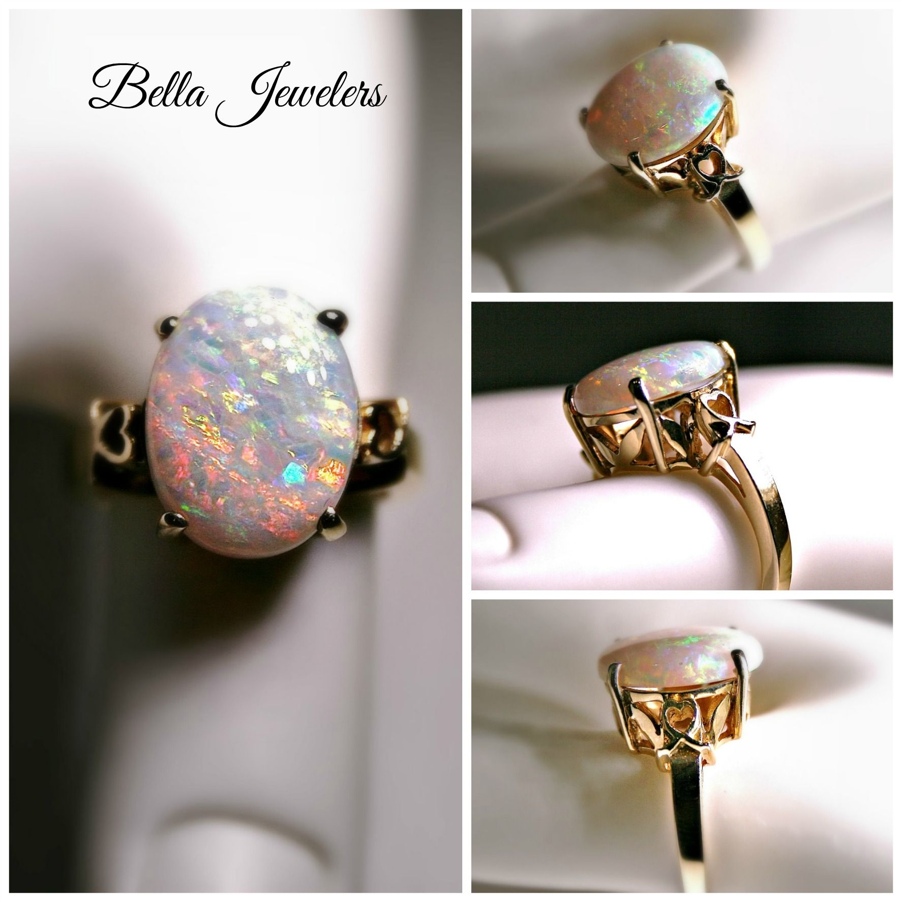 Opal seems to be the epitome of spring, and this