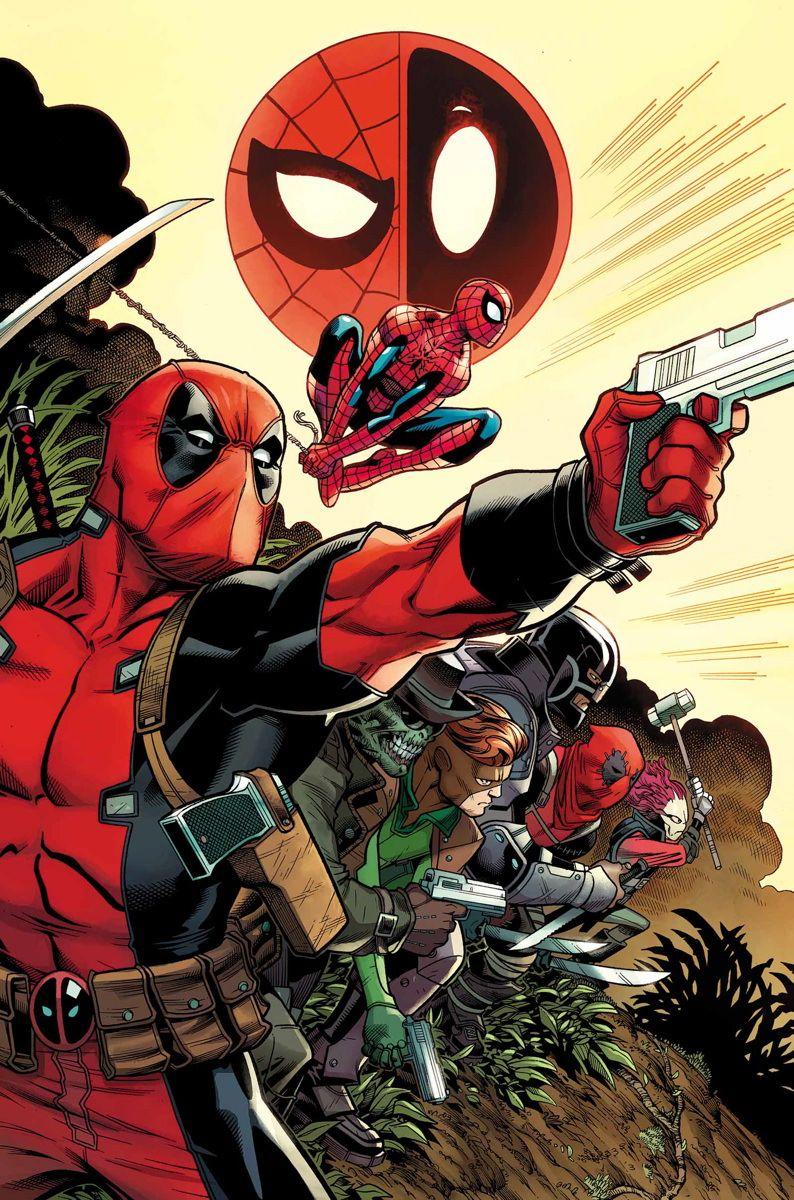 Marvel Comics March 2016 Solicitations Deadpool And Spiderman Deadpool Spiderman