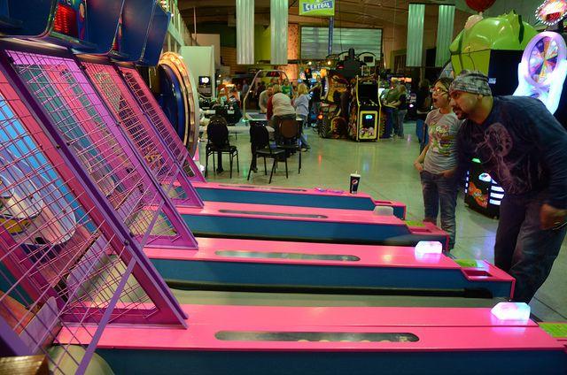 Skee Ball At Shenanigans In La Crosse Wi Skee Ball Shenanigans La Crosse
