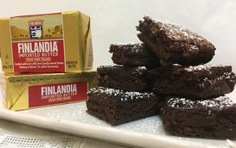 Fudgy Butter Brownies