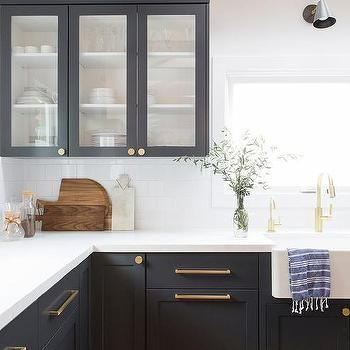 pin on k i t c h e n on kitchen cabinets gold hardware id=76026