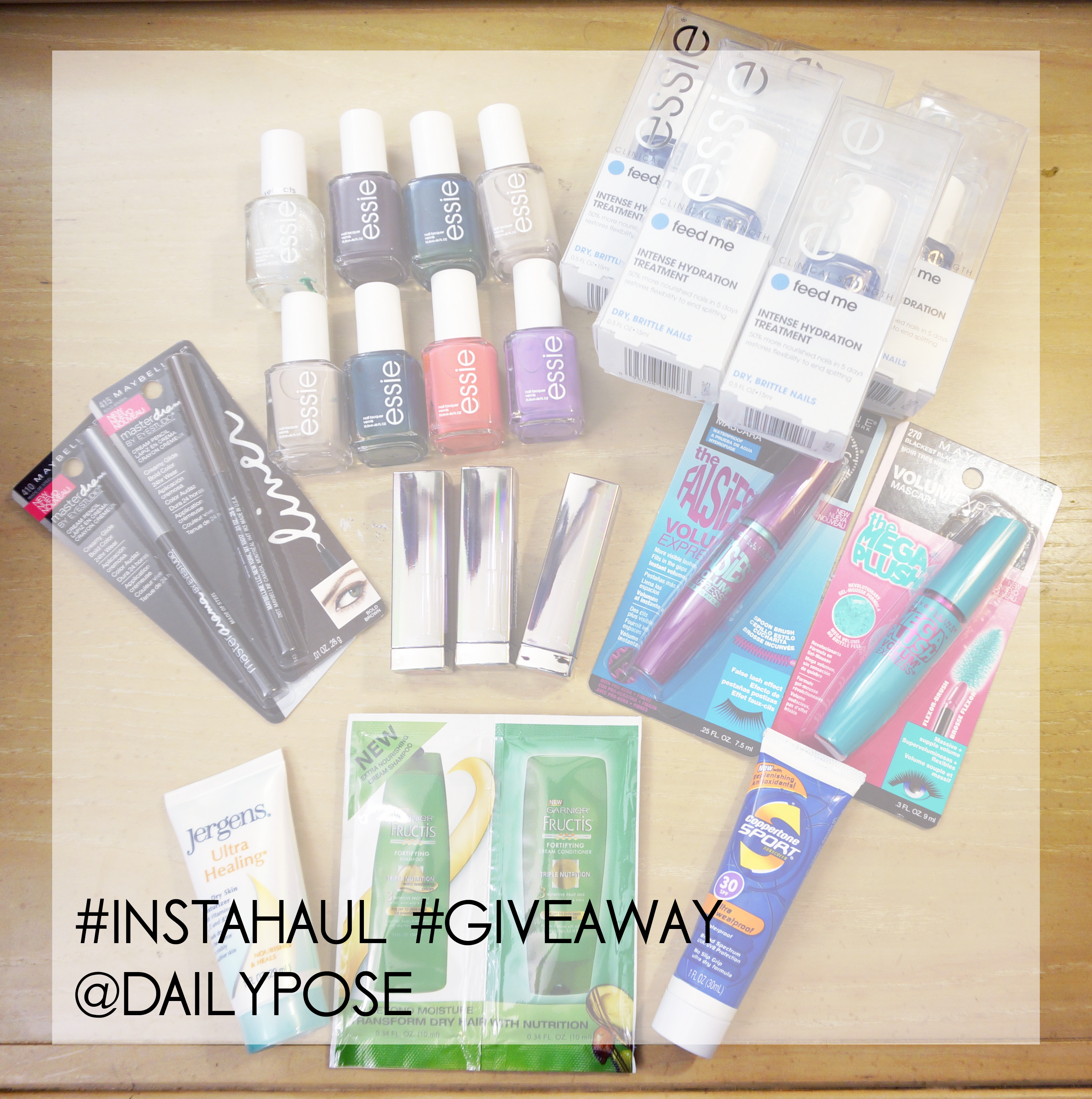 Follow @dailypose to win giveaways weekly