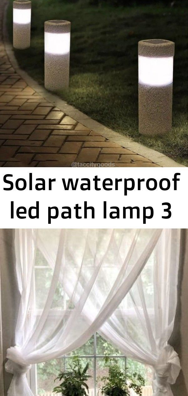 Solar Waterproof LED Path Lamp Simple Farmhouse Window Treatments  Maria Louise Design Tibbo Lounge Chair XL by DEDON  Garden armchairs Extra seating position with DIY fu...