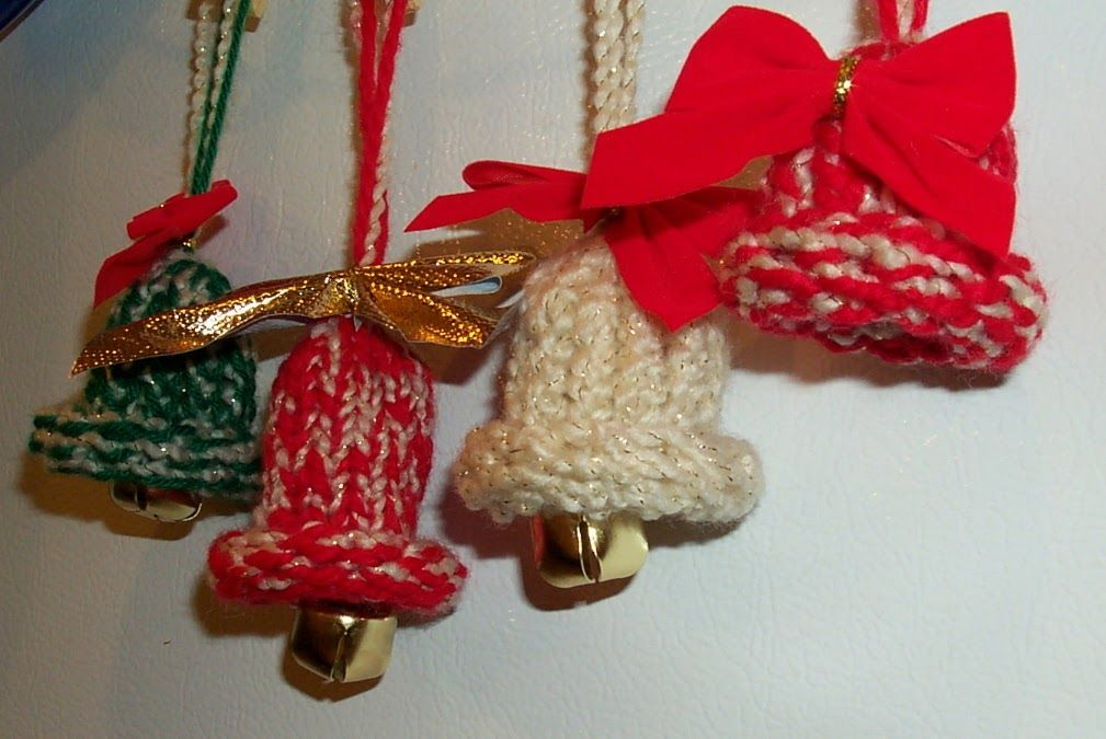 Canadian Crafter Christmas Bells! in 2020 Loom knitting