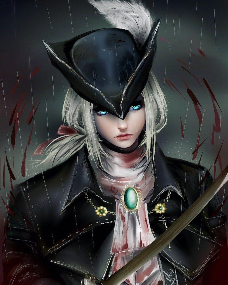 Lady Maria Bloodborne Conceito de personagem