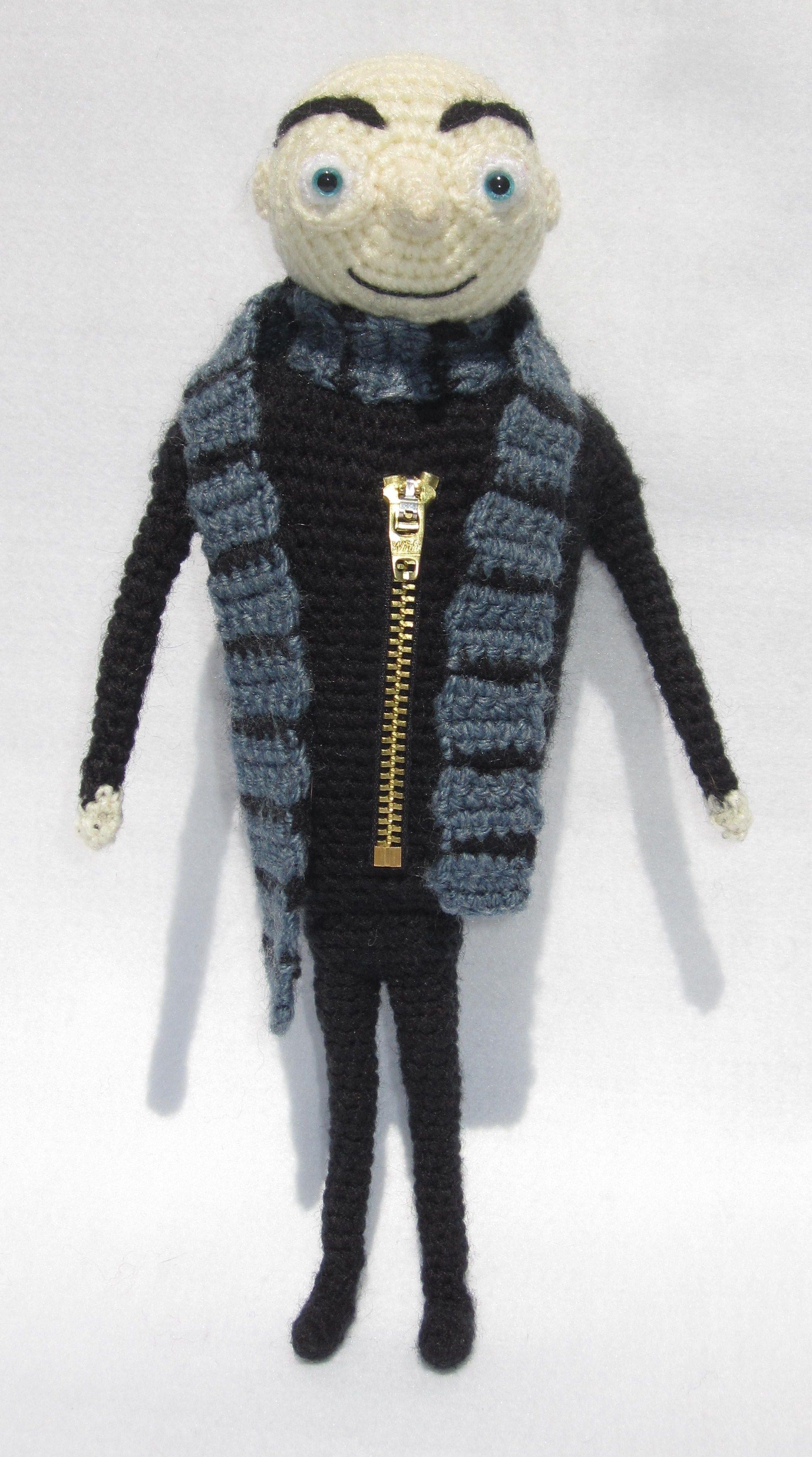 Crochet Gru - Despicable Me | Knitting | Pinterest | Häkeln ...