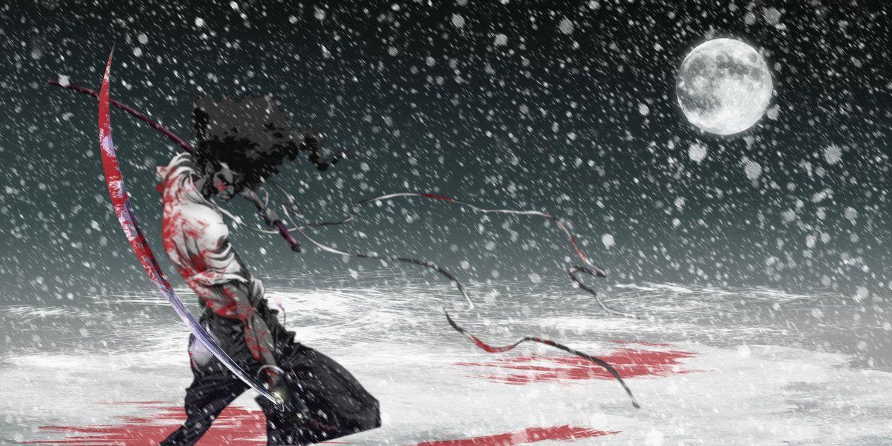 Afro Samurai Stylish Wallpapers 1080p Afro Samurai Samurai Afro