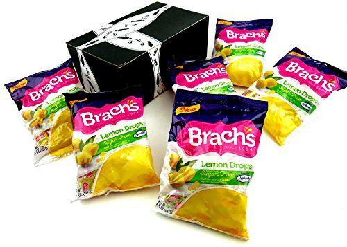 Brachs sugar free lemon drops 45 oz bags in a gift box pack of 6 brachs sugar free lemon drops 45 oz bags in a gift box pack of negle Image collections