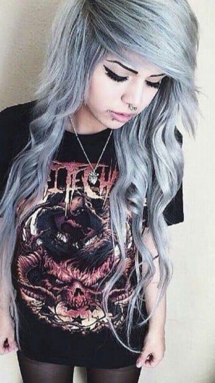 Youure soo beautiful hair pinterest emo